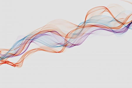 no lines: Abstract design with multi-colored lines