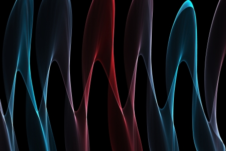 Abstract design with multi-colored lines Stock Photo - 19285022