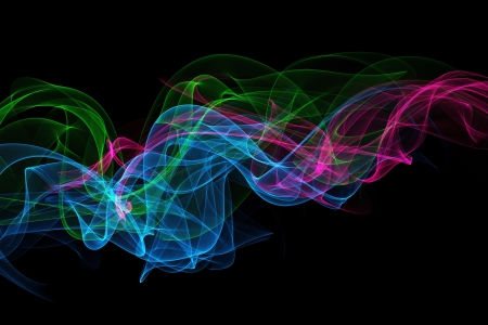 Abstract design with multi-colored lines Stock Photo - 19286007