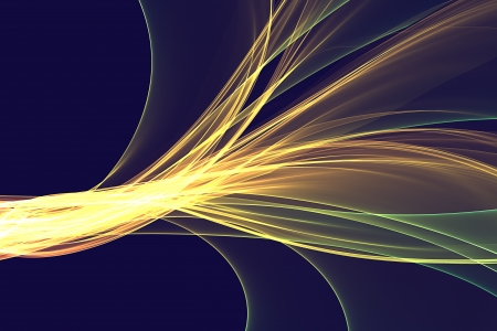 Abstract design with multi-colored lines photo