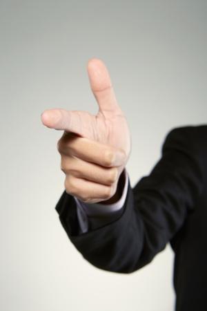 Shooting hand gesture