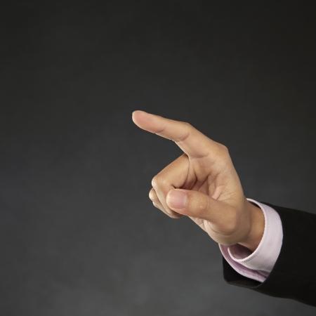 dedo                �ndice: Dedo ?ndice que se?ala