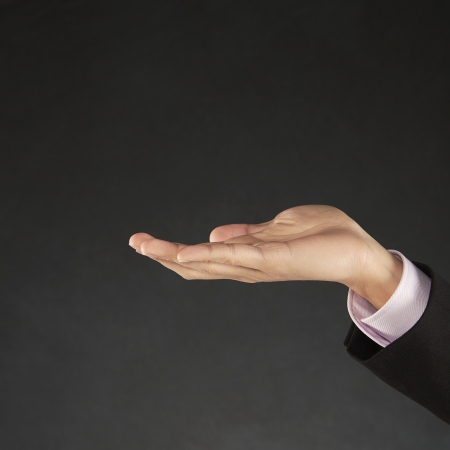 hands out: Human hand reaching out