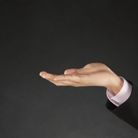 generosity: La mano del hombre llegar Foto de archivo