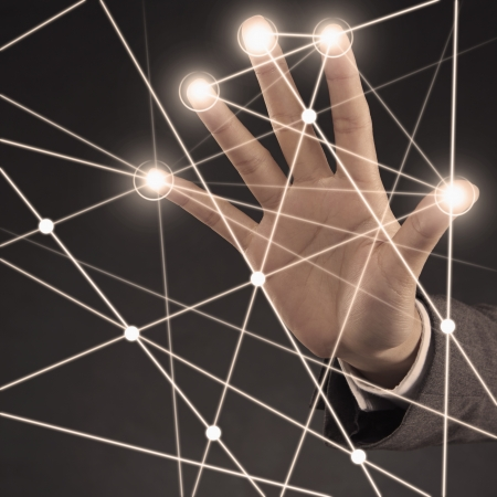 side effect: Illuminated finger tips