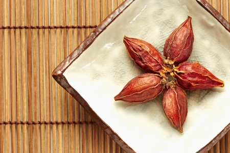 Traditional Chinese herb Cape Jasmine Fruit