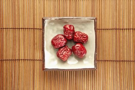 Traditional Chinese herb Jujube photo