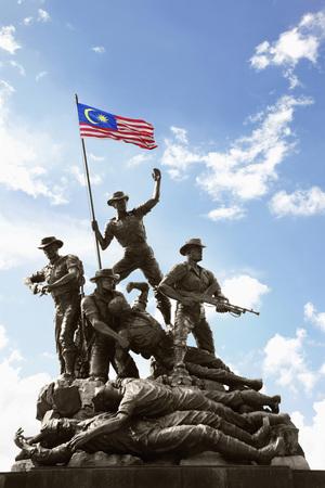 Tugu Negara, the Malaysian National Monument Éditoriale