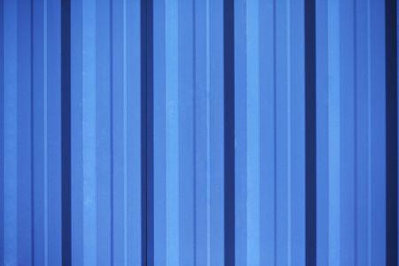 Blue shutter door photo