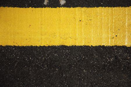 Line on road