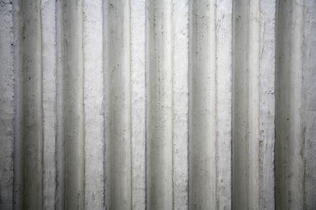 concrete surface finishing: Ribbed Concrete Surface Finishing Stock Photo