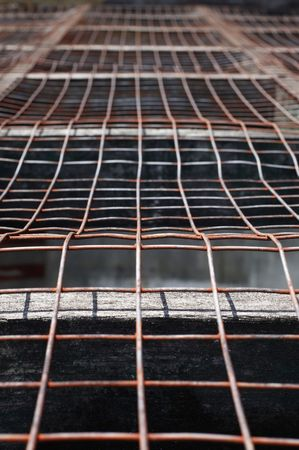 Rusted metal wire Stock Photo - 6808128