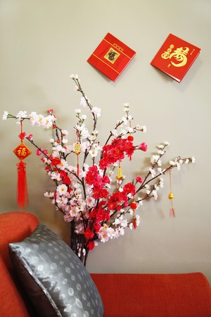 Chinese New Year decorations photo