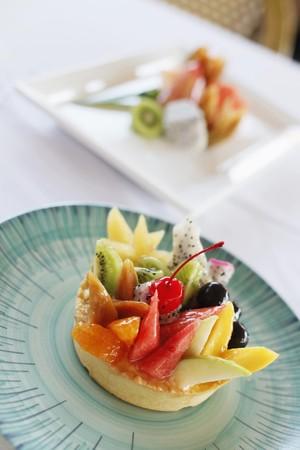 Fruit tart dessert