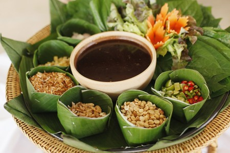condiments: Thai food condiments