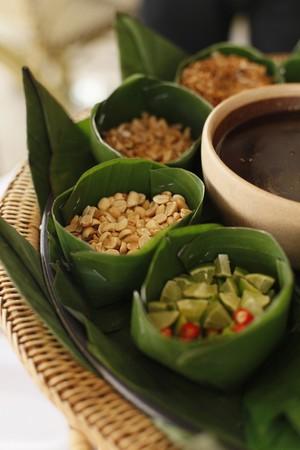 Thai food condiments