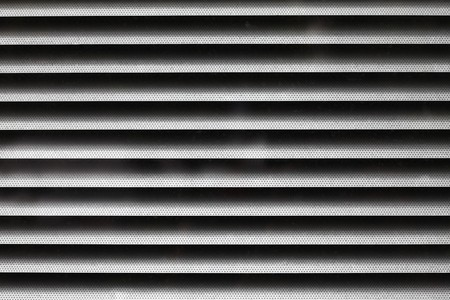 Close-up of window blinds Stock Photo