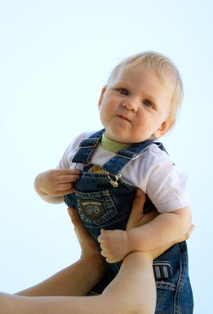 trustful: Baby looking trustful