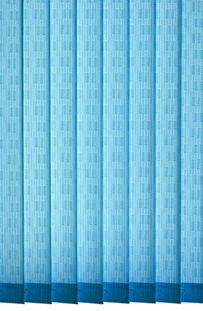 Texture of vertical blue jalousie