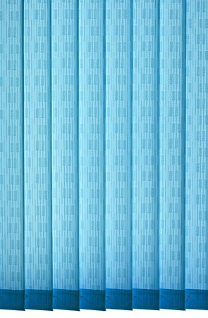 Texture of vertical blue jalousie