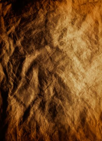 dark grunge texture of crumpled paper Stock Photo - 3604146