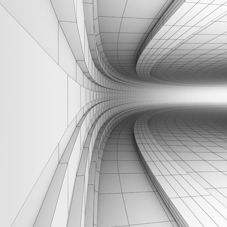 BW abstract engineering construction Stock Photo - 4312256