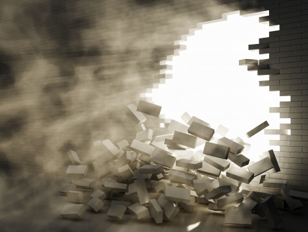 conception des forces destructrices 2 Banque d'images