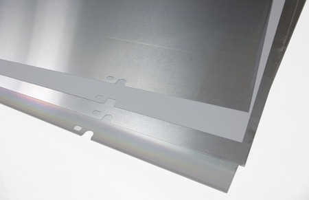Plates for offset printing machine.