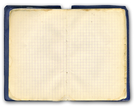 notebook. Old (1984 year). photo