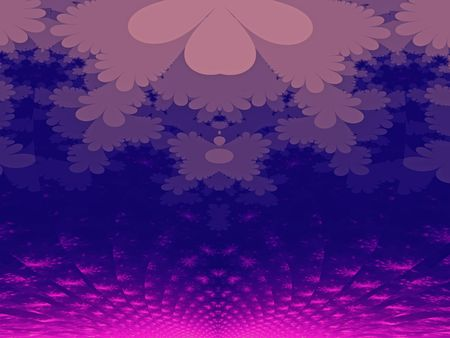 Purple sunset. Abstract background generated from a fractal pattern. photo