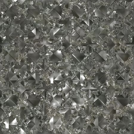 Seamless crumpled foil. Good texture for background replicate. Stock Photo - 2994619