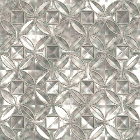 Piece mint of a foil. Seamless pattern best for replicate. Stock Photo
