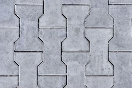 Hintergrund der blaugraue Stein (Beton) Blöcke