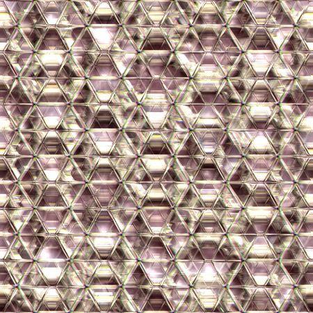 Seamless crysal rainbow glass background. Good for replicate. Stock Photo