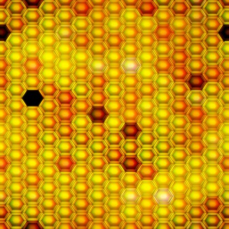 Seamless. Honeycomb pattern. Computer generated. Best for repicate. Stock Photo - 4035639