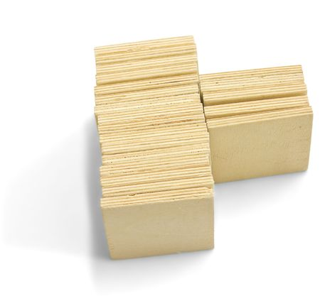 Blank wooden puzzle. Good idea for print your picture (or text). Stock Photo - 5988493