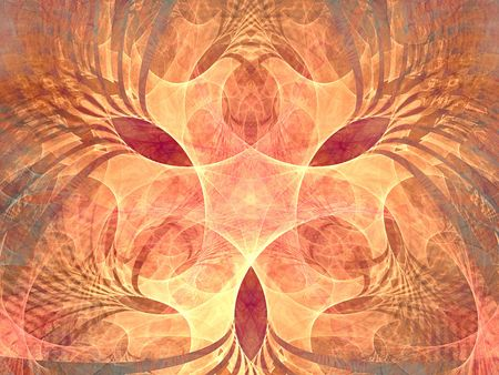 hyperspace: Crossroad in hyperspace. Fractal background. Good design for background (card or poster) Stock Photo