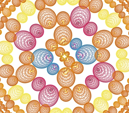 3d spheres and line abstract pattern for backgrounds Stock Photo - 11070137