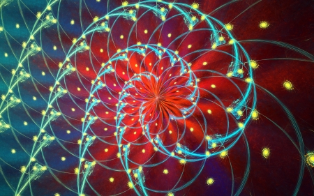 Fractal  Conceptual background with motion  Swirled light Stock Photo - 14289792