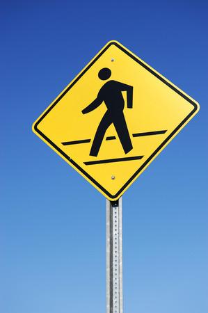 pedestrian: pedestrian sign
