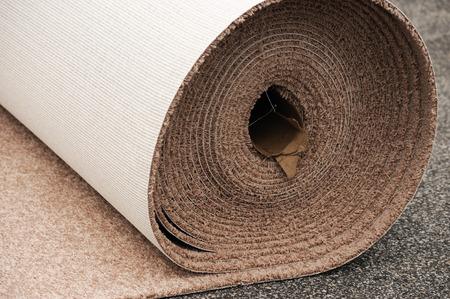 carpet: carpet roll Stock Photo
