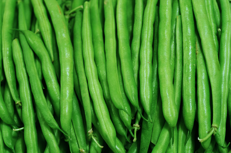 green bean: green bean background