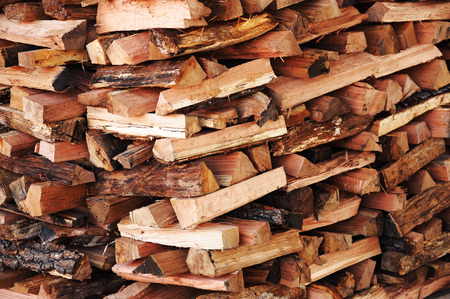 stacking fire wood Imagens