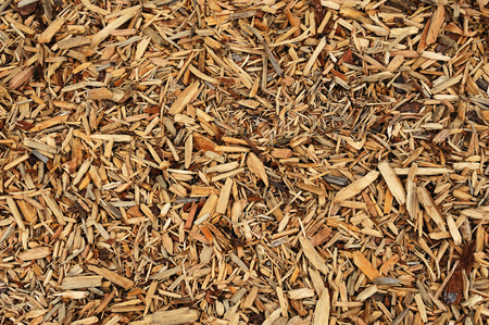 bark mulch: mulch background Stock Photo