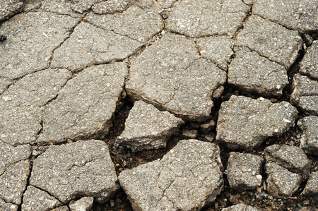 the road surface: cracked asphalt road surface background