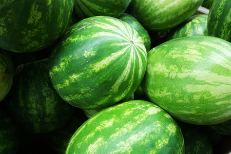 stacking: stacking watermelons background