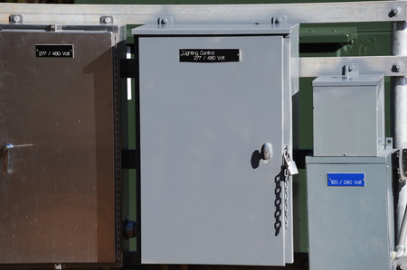 elektra verdeelkast Stockfoto