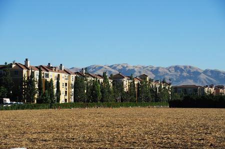 san jose: apartment buildings, open land for future construction in San Jose, CA
