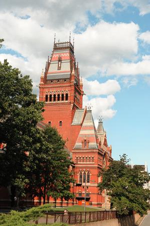 Sanders Theatre de Harvard campus Banque d'images - 68500963