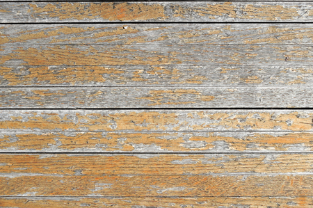 old wood floor: old wood floor background with rotted paint